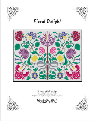 click here to view larger image of Floral Delight (chart)