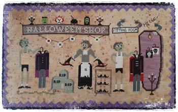 click here to view larger image of Halloween Shop (chart)