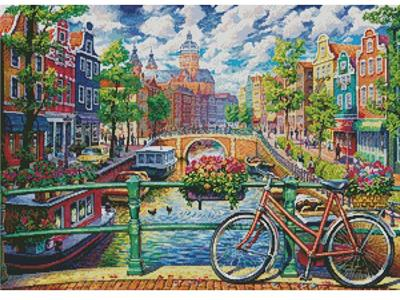 click here to view larger image of Amsterdam Canal (chart)