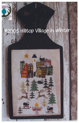 click here to view larger image of Hilltop Village in Winter (chart)