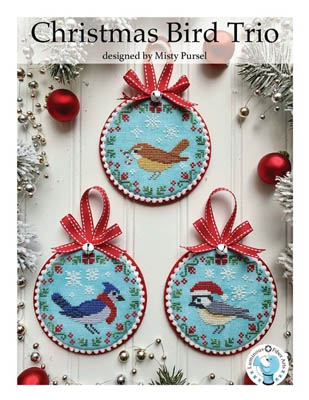 click here to view larger image of Christmas Bird Trio (chart)