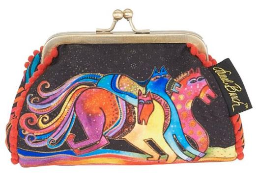 click here to view larger image of Mythical Horses - Coin Purse (accessory)