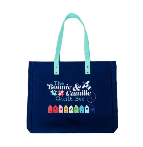 click here to view larger image of Quilt Bee Tote Bag-Bonnie & Camille (accessory)