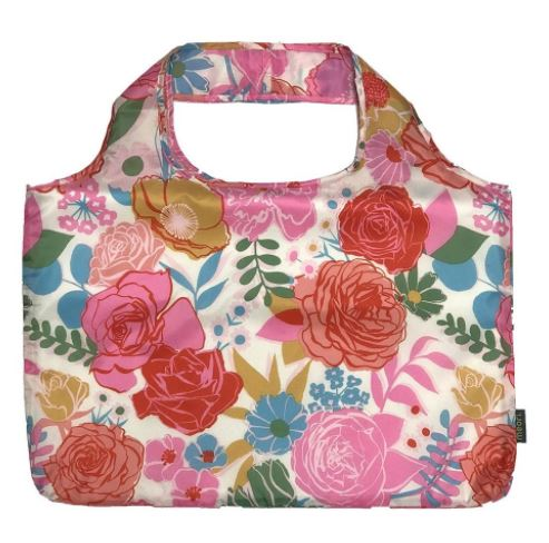 click here to view larger image of Reusable Pocket Shopper - Ivory Bloom (accessory)