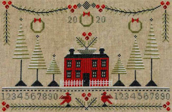 click here to view larger image of Cranberry Christmas Sampler (chart)