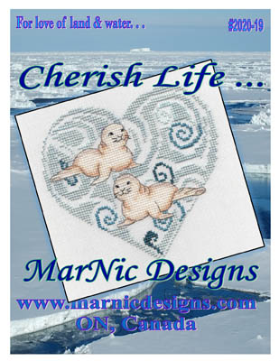 click here to view larger image of Cherish Life - Seal Pups (chart)