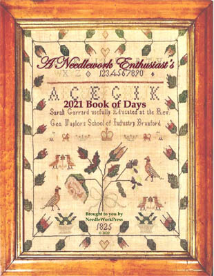 click here to view larger image of Book of Days 2021 (chart)