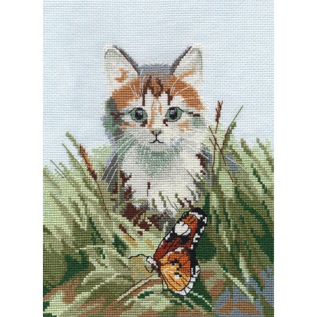 click here to view larger image of Admiring Meeting (counted cross stitch kit)