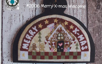 click here to view larger image of Merry X-Mas Welcome (chart)