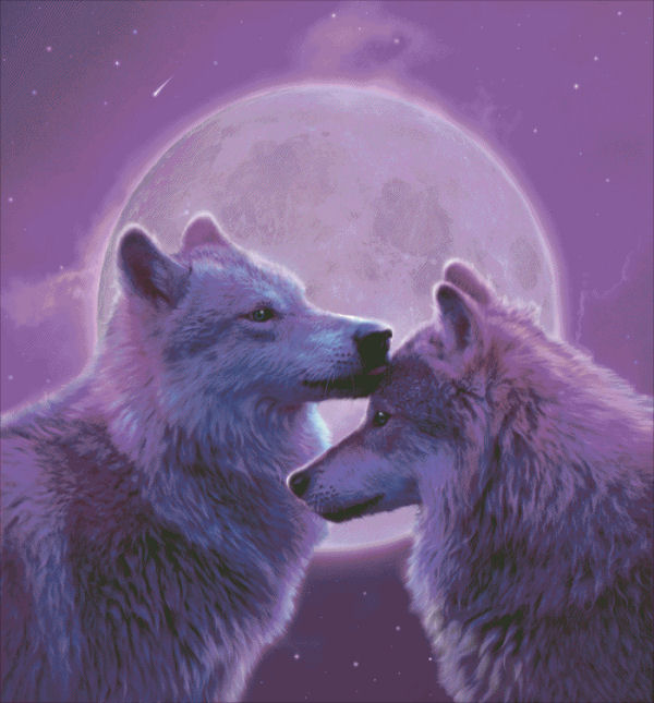 click here to view larger image of Loving Wolves - Vincent Hie (chart)