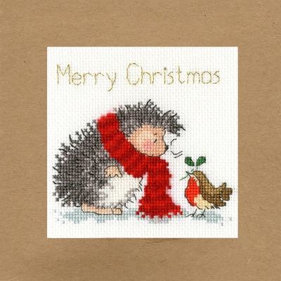 click here to view larger image of Christmas Wishes - Margaret Sherry (counted cross stitch kit)