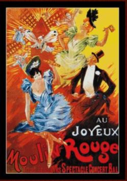 click here to view larger image of Au Joyeux Moulin Rouge - Vintage Poster (chart)