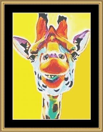 click here to view larger image of Artsy Giraffe (chart)