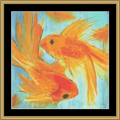 click here to view larger image of Artsy Goldfish (chart)