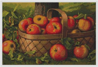 click here to view larger image of Apples in a Basket (chart)