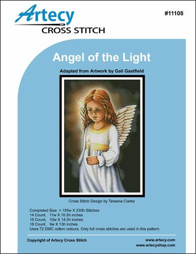 click here to view larger image of Angel of the Light (charm)