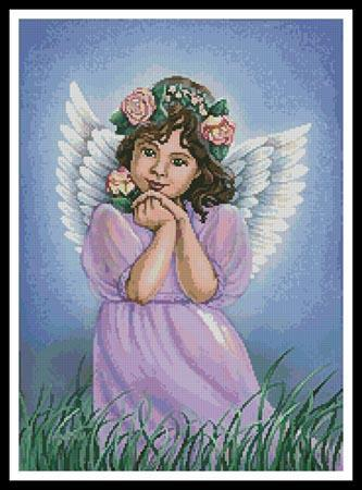 click here to view larger image of Angel of the Earth (charm)