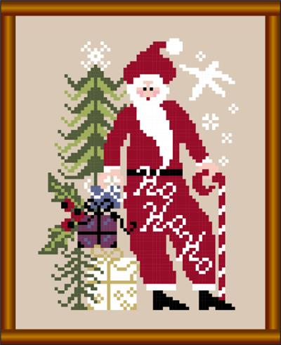 click here to view larger image of Ho Ho Ho Santa (chart)