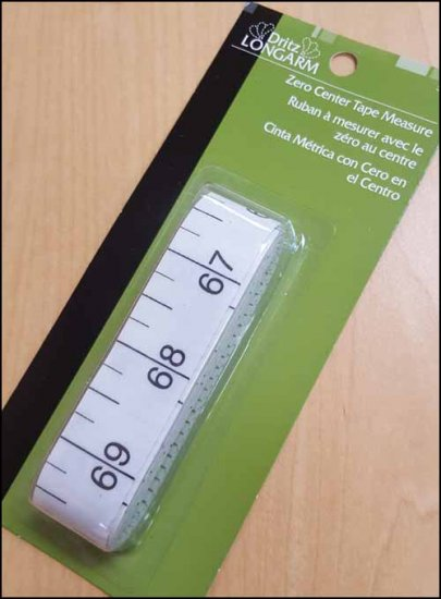 click here to view larger image of Zero Center Tape Measure (accessory)