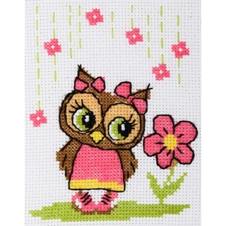 click here to view larger image of Owl (counted cross stitch kit)