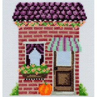 click here to view larger image of Florists Shop (counted cross stitch kit)
