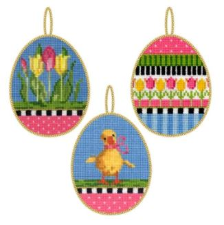 click here to view larger image of Easter Eggs 2 Kit (counted cross stitch kit)