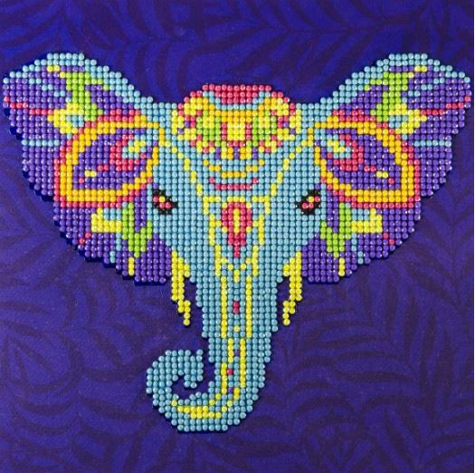 click here to view larger image of Elephant (Diamond Embroidery)