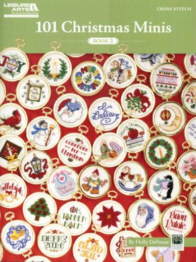 click here to view larger image of 101 Christmas Minis Book 2 (chart)