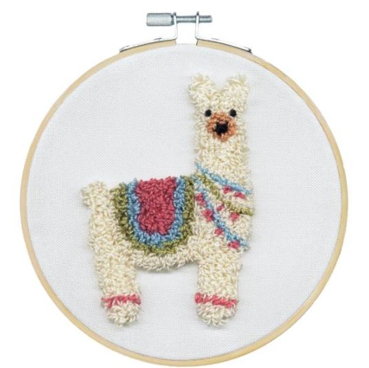 click here to view larger image of Llama (Punchneedle)