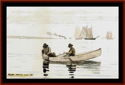 click here to view larger image of Boys Fishing 2nd Edition - Winslow Homer (chart)