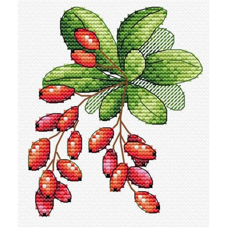click here to view larger image of Barberry (counted cross stitch kit)