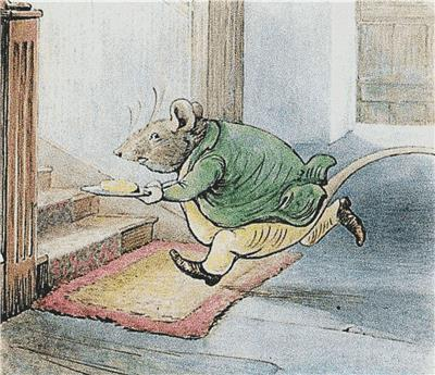 click here to view larger image of Mr Rat - Beatrix Potter (chart)