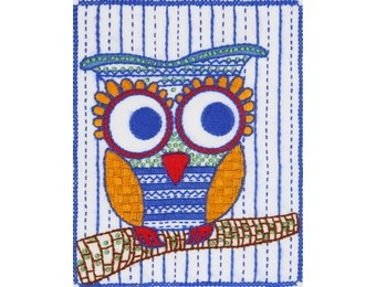 click here to view larger image of Owl (embroidery kit)
