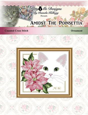 click here to view larger image of Amidst the Poinsettias Ornament (chart)