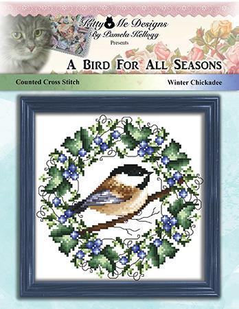 click here to view larger image of Bird for all Seasons - Winter Chickadee (chart)
