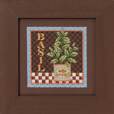 click here to view larger image of Basil (counted cross stitch kit)