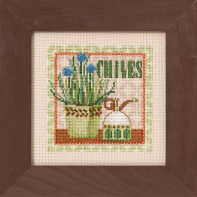 click here to view larger image of Chives (counted cross stitch kit)