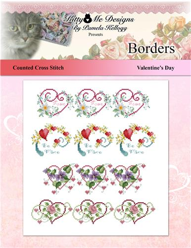click here to view larger image of Borders - Valentines Day (chart)