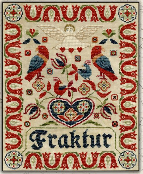 click here to view larger image of Fraktur (chart)