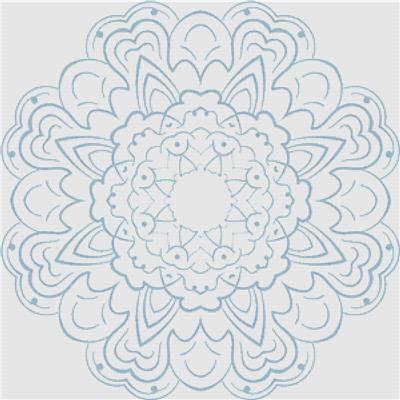 click here to view larger image of Blue Mandala (chart)