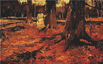 click here to view larger image of Girl in White in the Woods (chart)