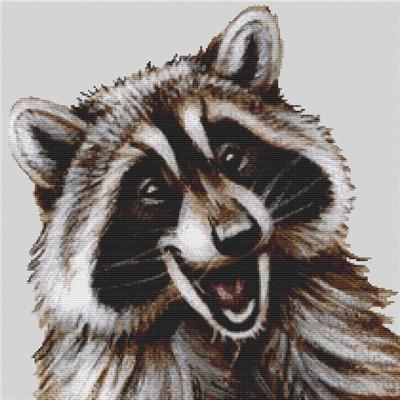 click here to view larger image of Happy Raccoon (chart)