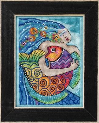 click here to view larger image of Ocean Song (counted cross stitch kit)