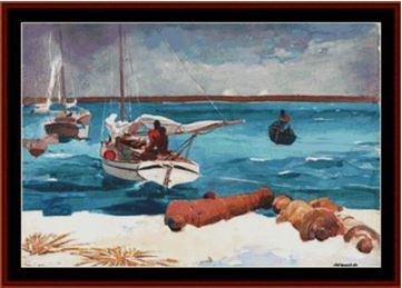 click here to view larger image of Nassau - Winslow Homer (chart)