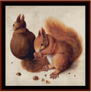 click here to view larger image of Squirrels - Durer (chart)