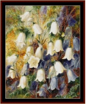 click here to view larger image of Harebells II - Durer (chart)