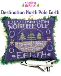 click here to view larger image of Destination North Pole Earth (chart)