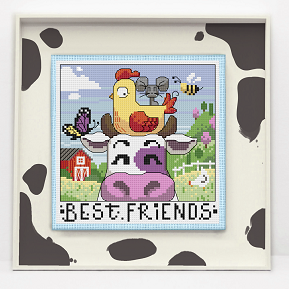 click here to view larger image of Best Friends - The Moo the Merrier (chart)