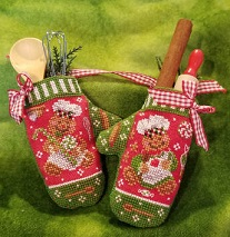 click here to view larger image of Gingerbread Mittens (chart)