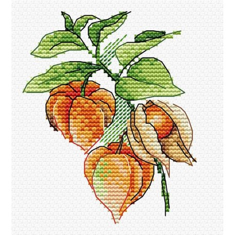 click here to view larger image of Autumn Lantern (counted cross stitch kit)